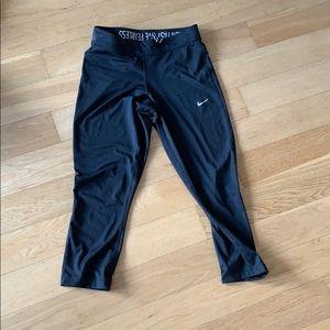 Nike workout Capri bottoms